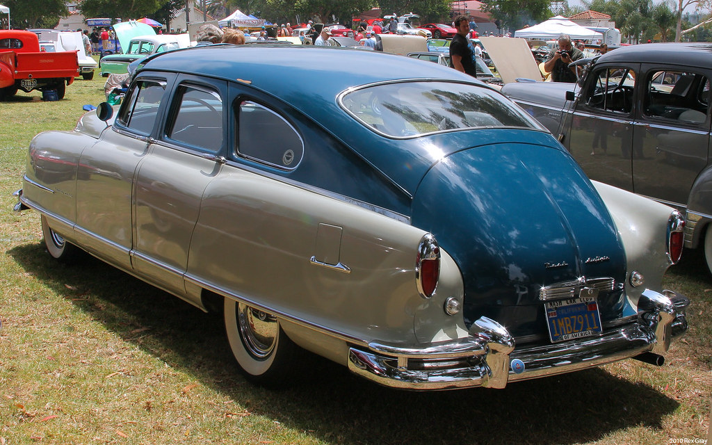 1951 Nash Ambassador Custom 4d sdn - rvl | Rex Gray | Flickr