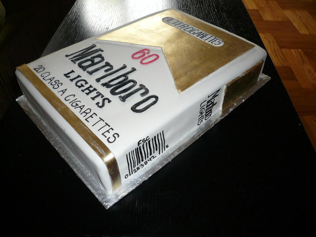 Marlboro Light Cake