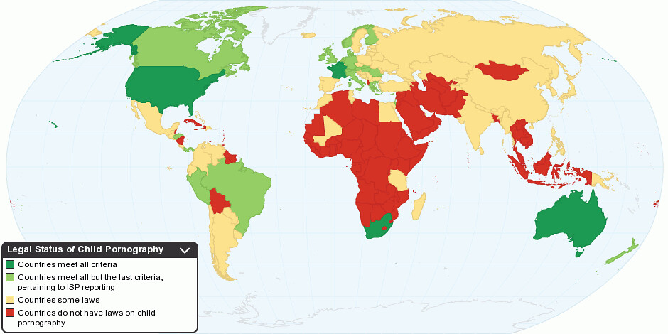 porn laws by country