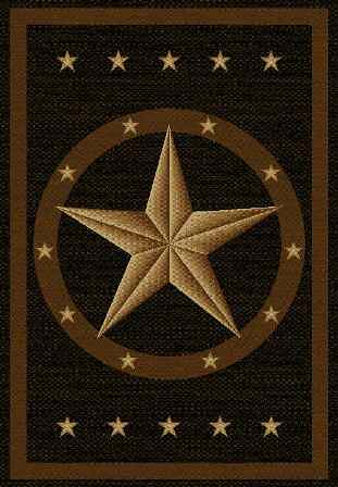 Texas Star Rug Beautiful Hand Woven Rug With Brilliant