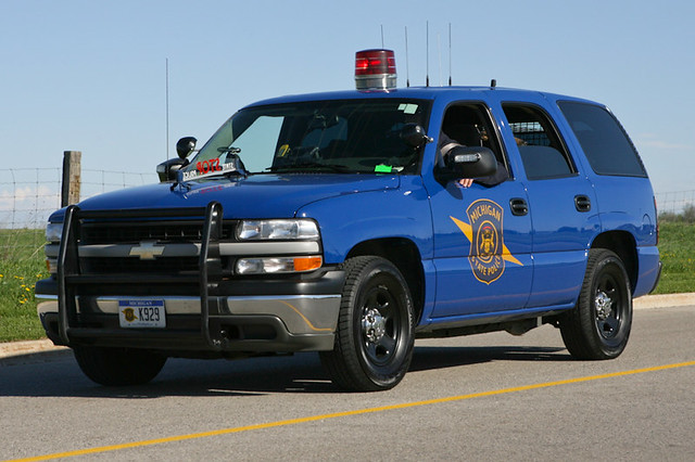 Michigan State Police Chevrolet Tahoe