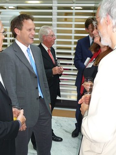 Grant Shapps talking to CLG partners | by Ministry of Housing, Communities and Local Govt