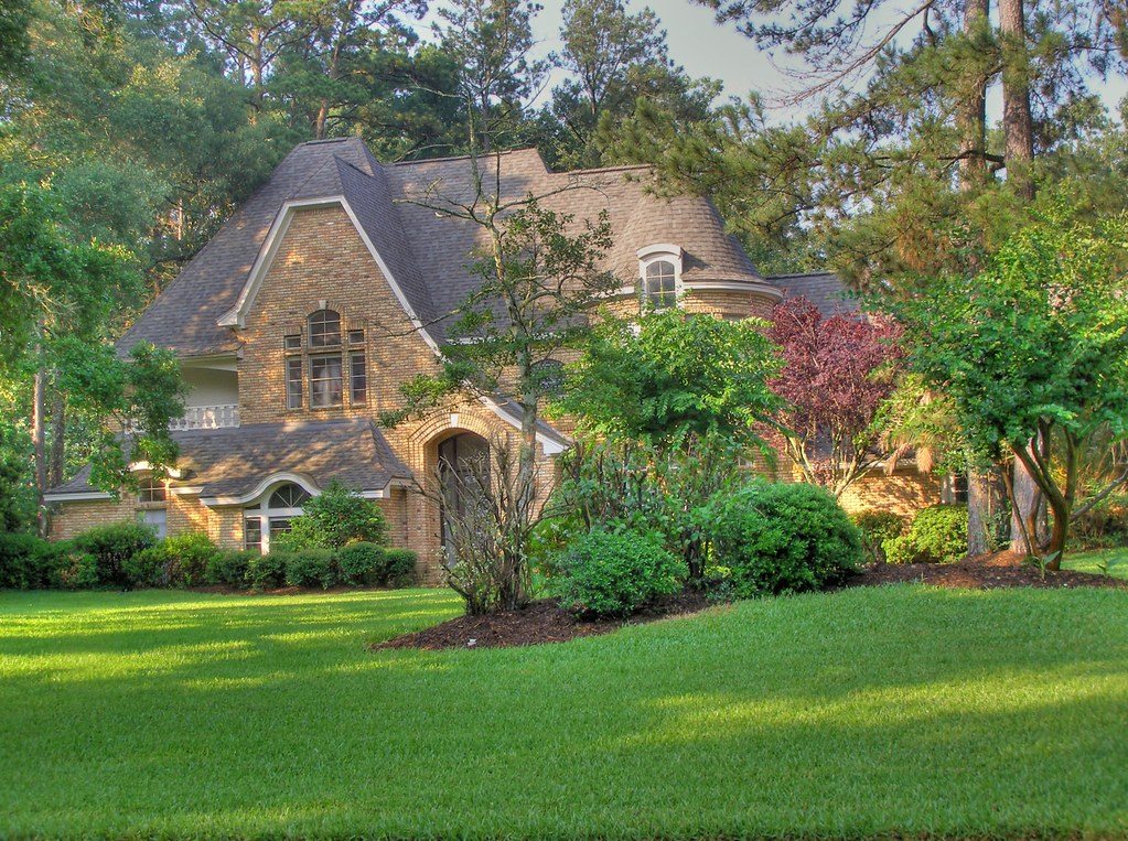 Hdr House In Kingwood Texas This House Is On The Same