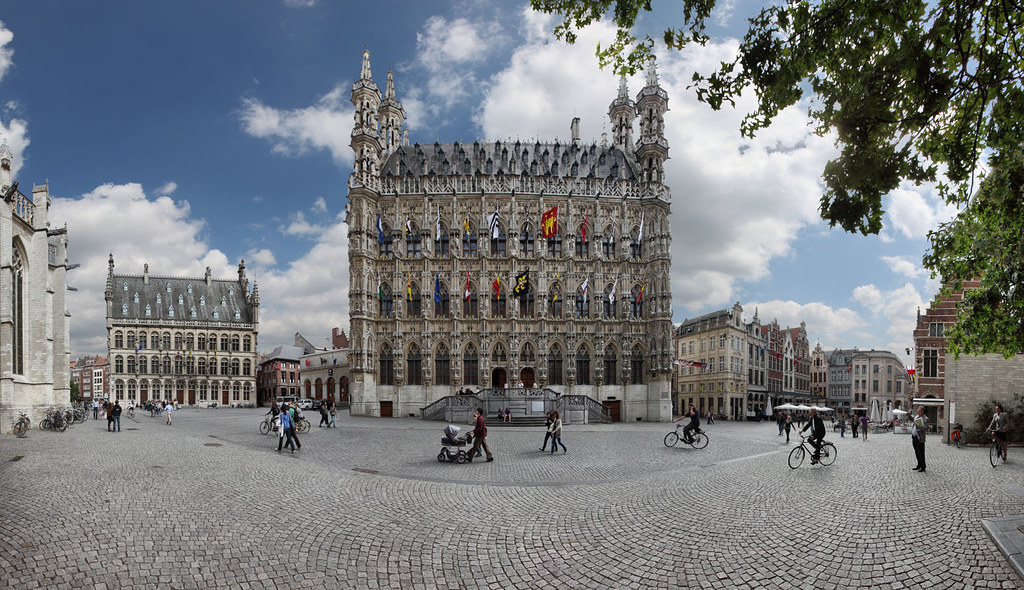 Stadhuis grote markt leuven belgie city hall great ma - Piscine de grand quevilly ...