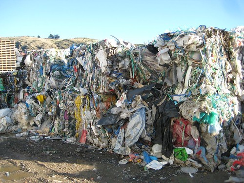 Becon Dry Waste RMF baled plastic | by siftnz