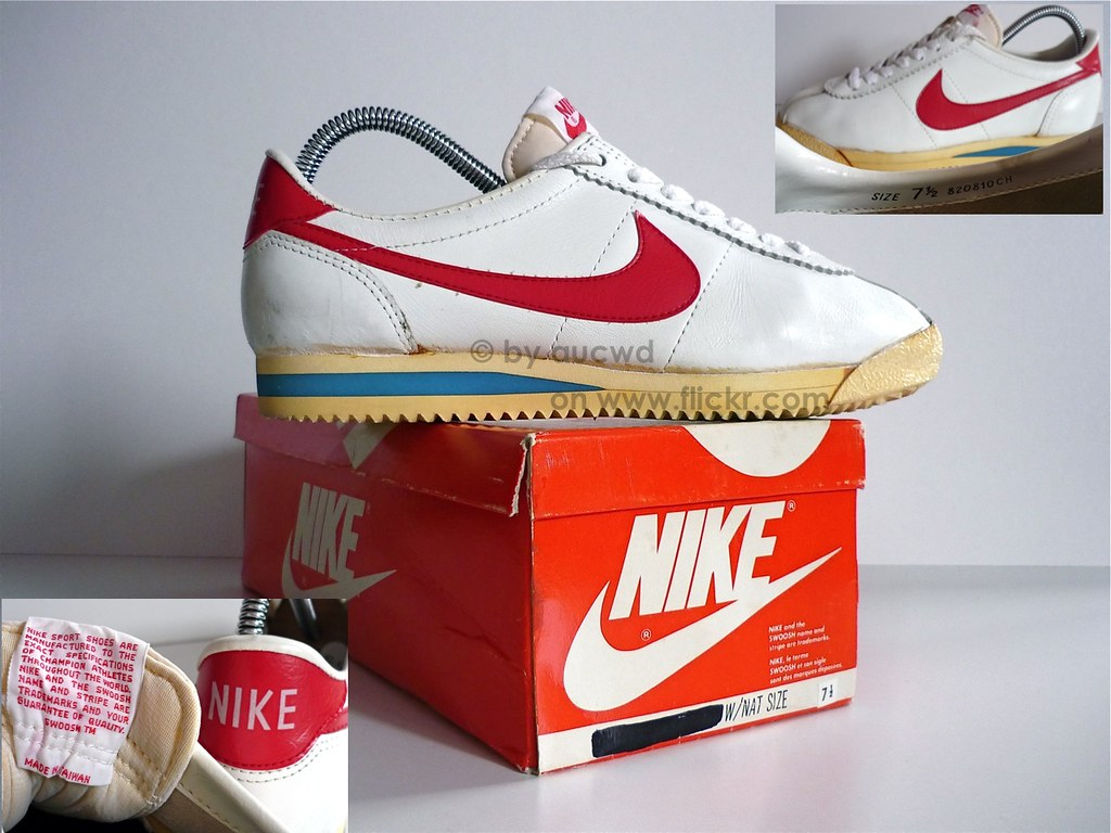 ... 70`S / 80`S VINTAGE NIKE CORTEZ RUNNING SHOES | by aucwd