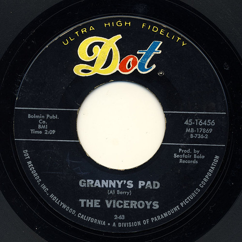 The Viceroys Granny 39 S Pad Blues Bouquet 1963 Yes I