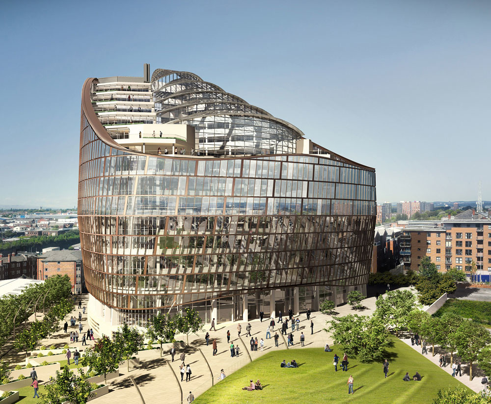 google head office. Exterior View Of The Co-operative Group\u0027s New Head Office - Artists Impression | By Google