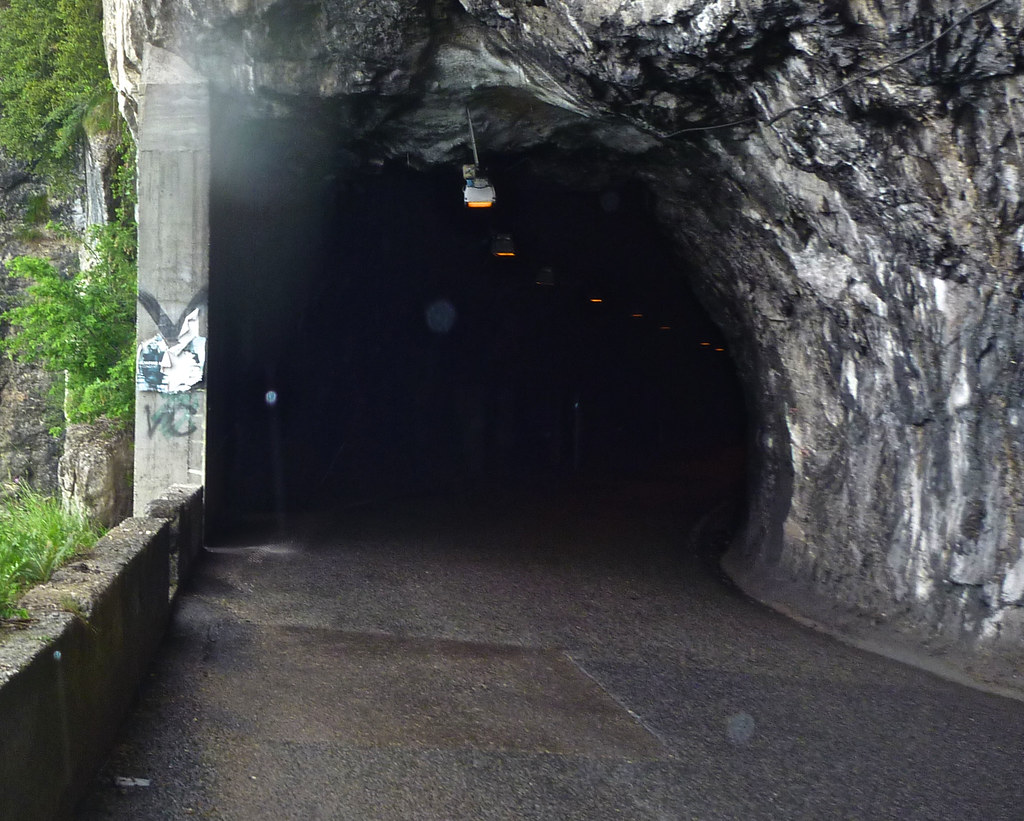 Twenty Fun Tunnels to Cycle in the Alps