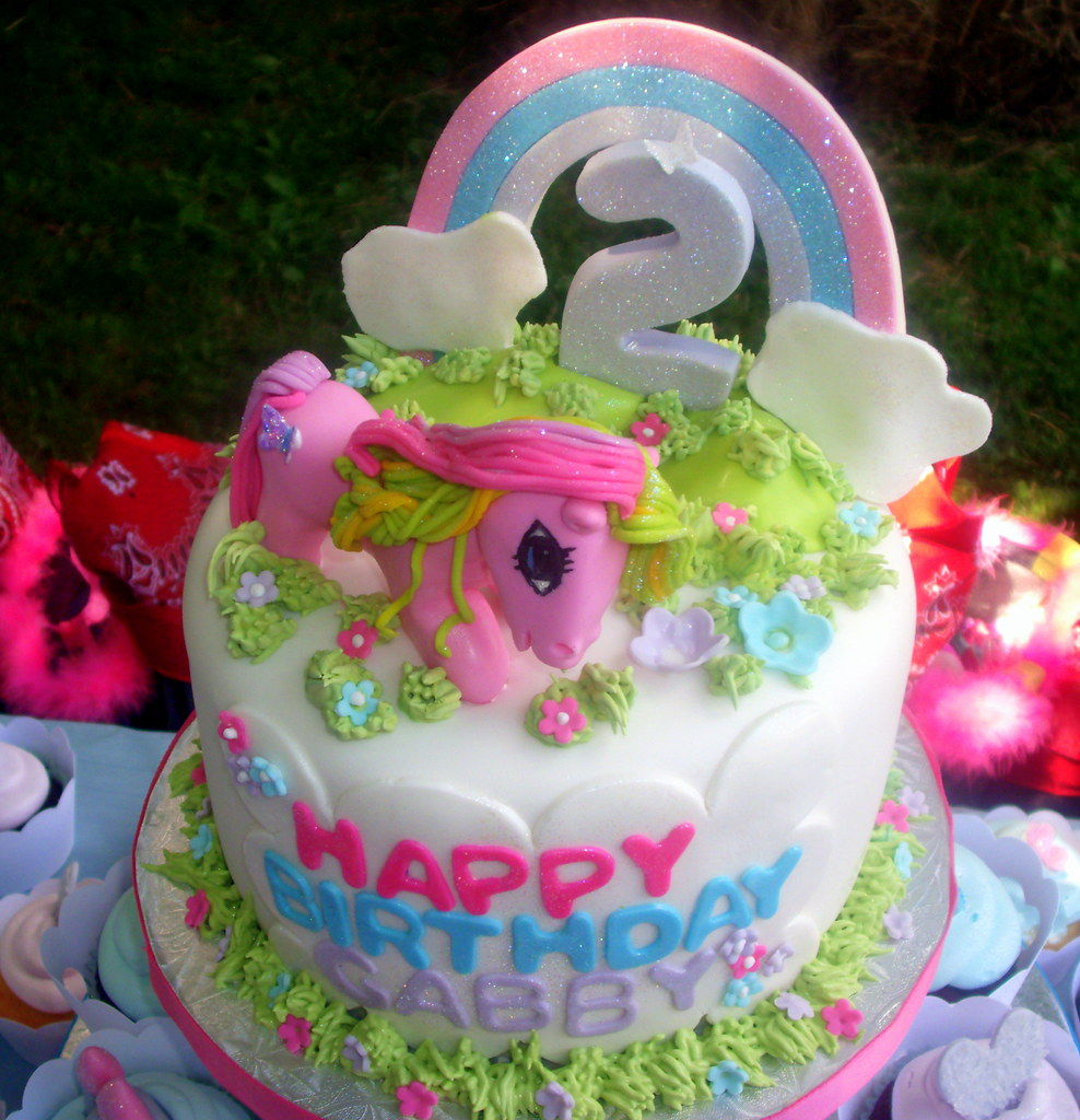 My Little Pony 2nd Birthday Cake pastryqueen62 Flickr