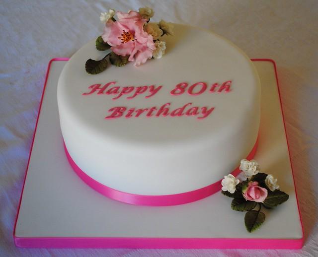 80th birthday cake to keep for Gardening 80th birthday cake