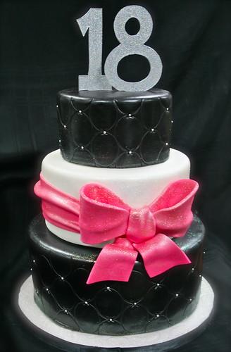 Girly 18th Birthday cake Gimme Some Sugar (vegas!) Flickr