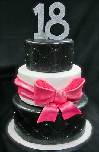 Cake Designs For 18 Year Old Boy : Girly 18th Birthday cake Gimme Some Sugar (vegas!) Flickr