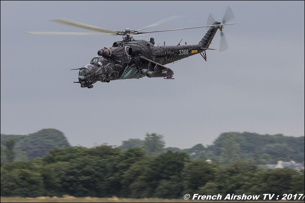 Mi-24 Hind , 221 LtBVr (CzAF) , Nato Tiger Meet landivisiau 2017 , NTM2017 ,Spottersday Nato Tigers , Harde to be humble , bretagne