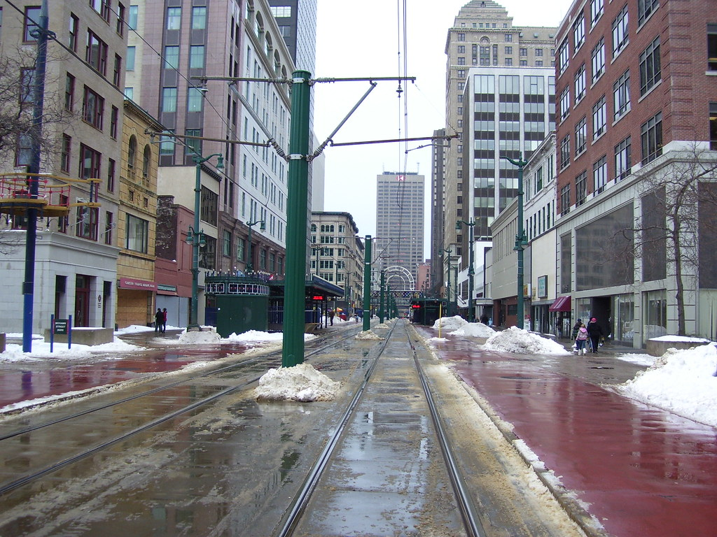 Main Street Buffalo Ny Main Street In Downtown Buffalo Ha Flickr