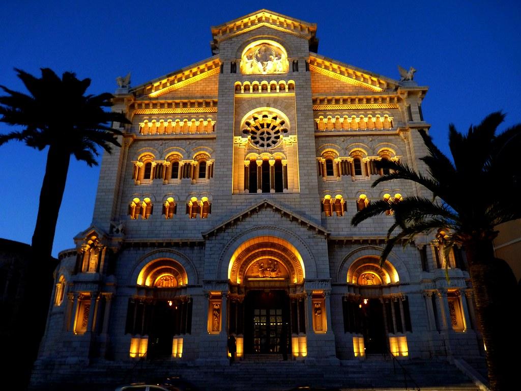 Cath 233 Drale De Monaco Saint Nicholas Cathedral Known