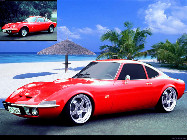 opel gt 1968 virtual tuning jimgreetingsfromgreece flickr. Black Bedroom Furniture Sets. Home Design Ideas