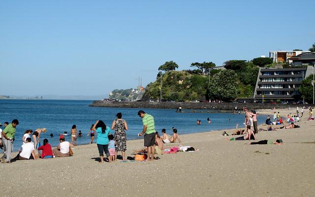 Mission Bay Beach, Auckland