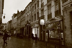Cobble-stoned street in Lille... | by Nicolai Bangsgaard