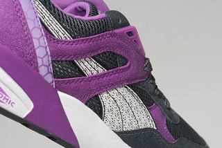 Puma White Mesh Shoes