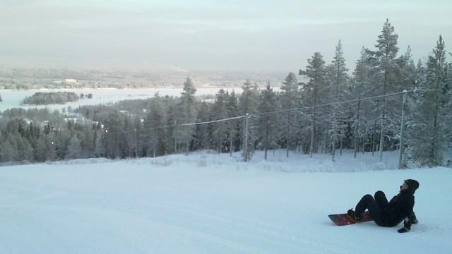 Pista de esquí en Ounasvaara