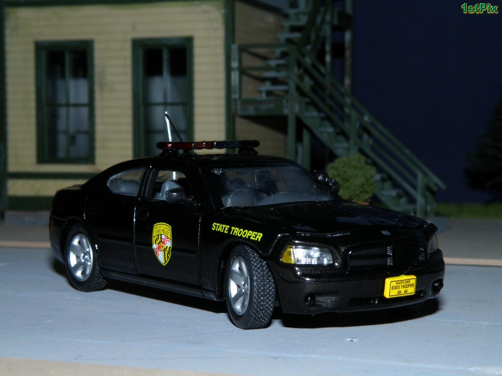 New Dodge Charger >> 1/43 Maryland State Police Dodge Charger Diecast | 1/43 ...