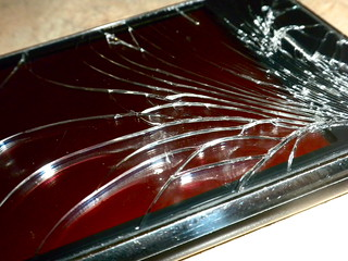 Shattered Iphone  For Sale