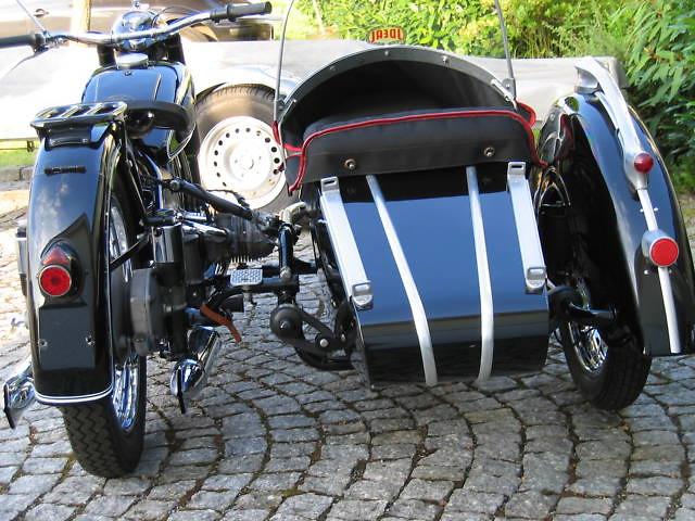 Bmw Bmw R 67 2 Mit Beiwagen Steib Ls 200 1953 R Mobile