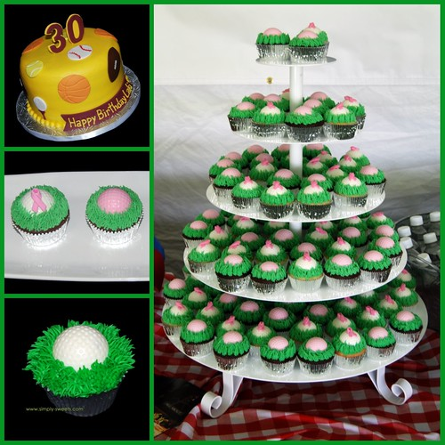 Simply Sweets Golf Cakes And Cupcakes