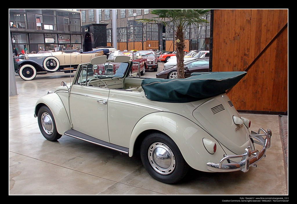 vw beetle kaefer cabriolet    volkswagen  flickr