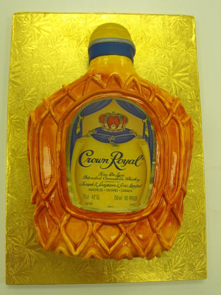 Crown Royal Bottle Cake Pan