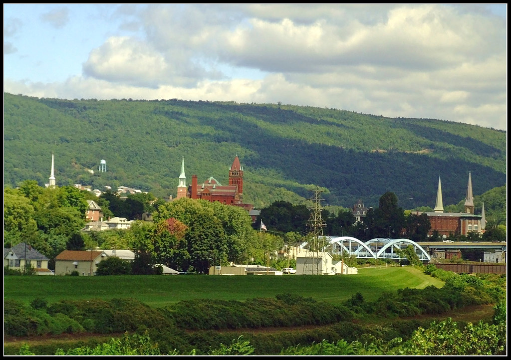 Cumberland Maryland From The Capitol Limited Cumberland