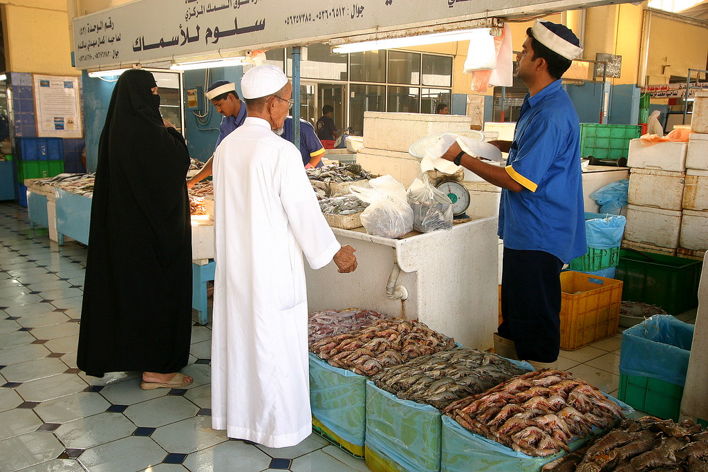 Saudi arabia fish market of jeddah a candid picture in for White fish market