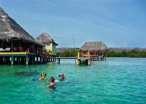 Snorkeling At Punta Caracol