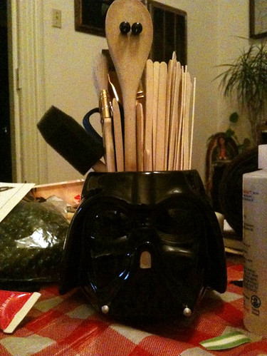 Darth Vader Vase Bonnie Burton Flickr