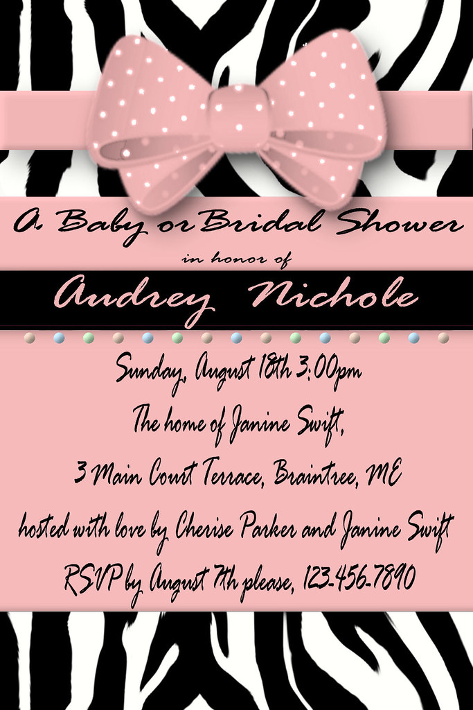 Animal Print Bridal Shower Invitation – orderecigsjuice.info