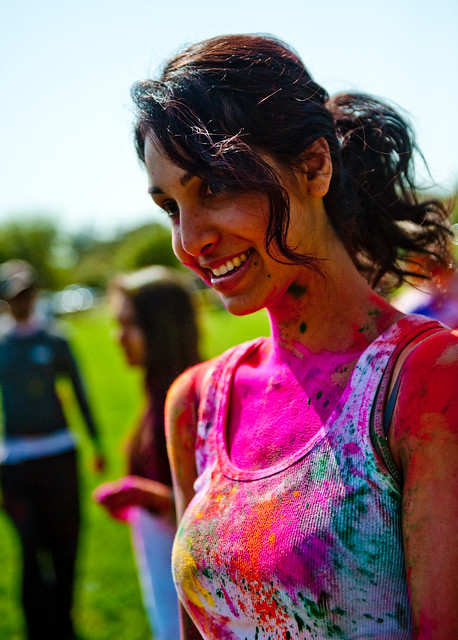 Stanford Holi  Pretty Indian Girl  Chris Willis  Flickr-4553