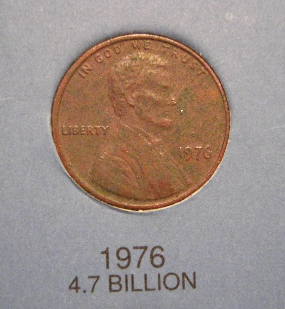 1976 Lincoln Memorial Penny 1976 Lincoln Memorial Penny