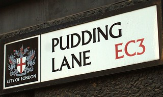 Pudding Lane street sign | by Ben Sutherland