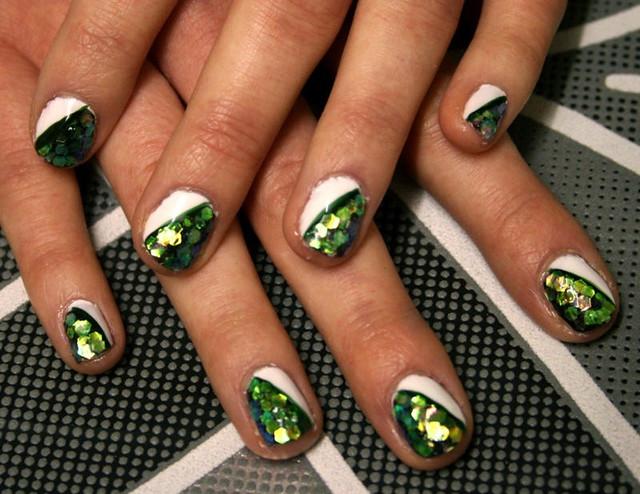 Nail Art on natural nails | Flickr - Photo Sharing!