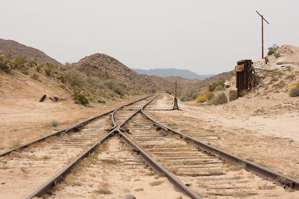 Dos Cabezas Siding On The San Diego Amp Arizona Railroad