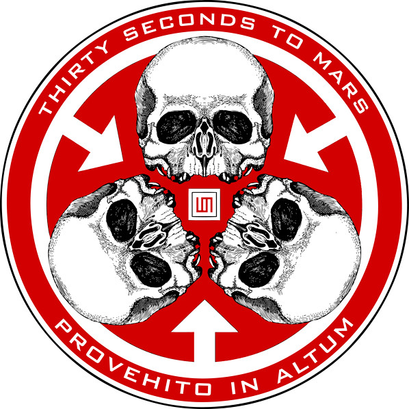 Skull Seal Trinity 30 Seconds To Mars Symbols To Be Used Flickr