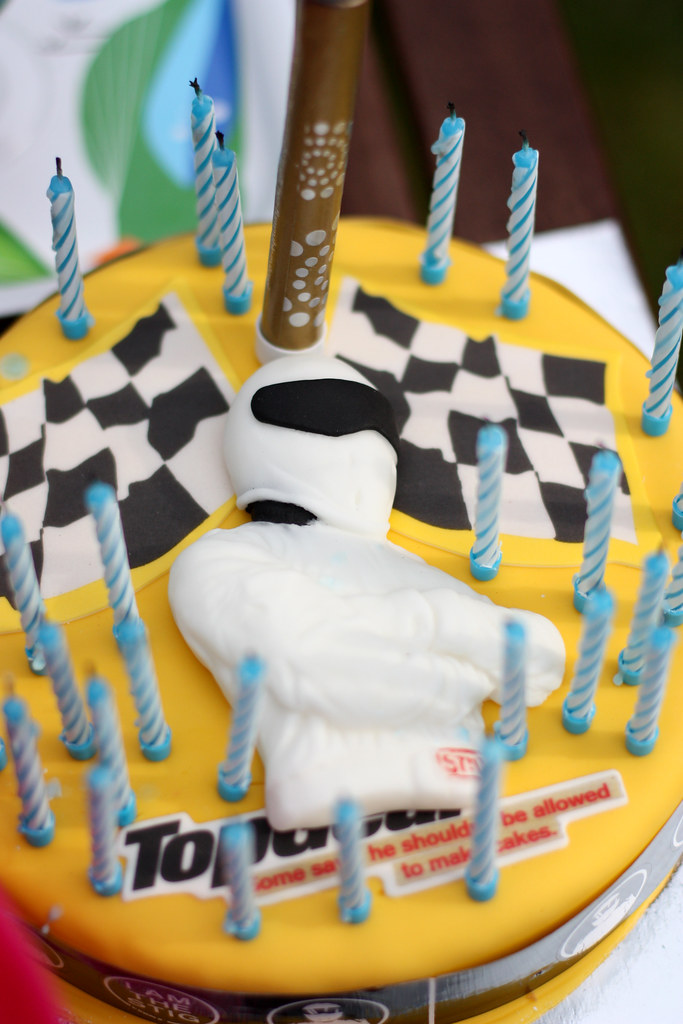 Top Gear Birthday Cake Ali Elangasinghe Flickr