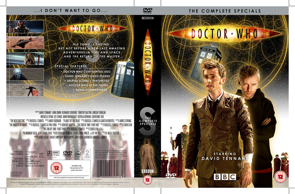 doctor who the complete specials dvd cover