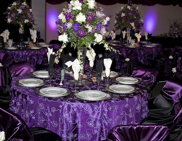 Client S Setup Purple Theme An Elegant Setting At The