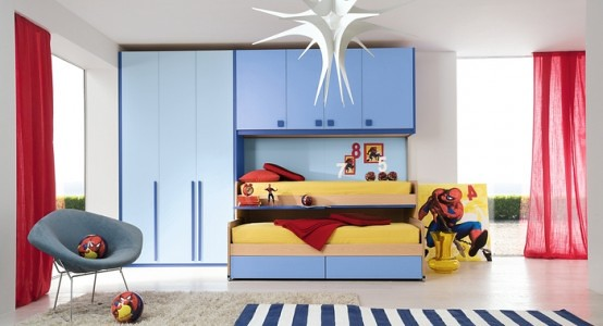 Cool boys bedroom ideas by zg group 22 554x300 home - Cool things for boys room ...