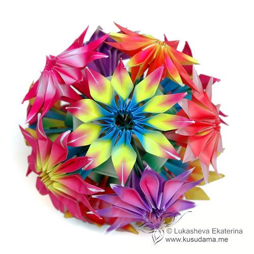 Tutorial gloriosa modular origami flowers watch the video flickr gloriosa modular origami flowers by ekaterina mightylinksfo