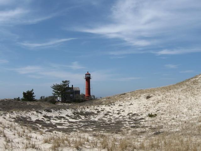 Lighthouse at Monomoy National Wildlife Refuge ...