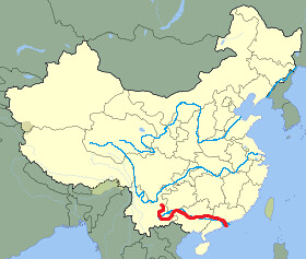 Xi River Map Xun Xi River | huneycuttaddison | Flickr Xi River Map