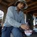 Fisherman, Mekong Delta
